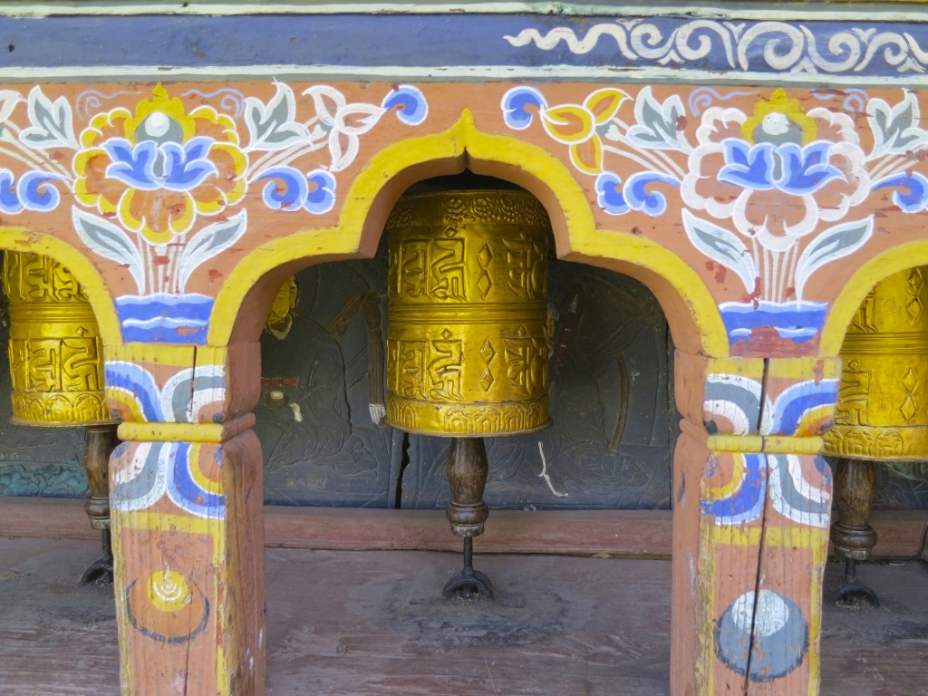 Prayer Wheels at Fertility Temple