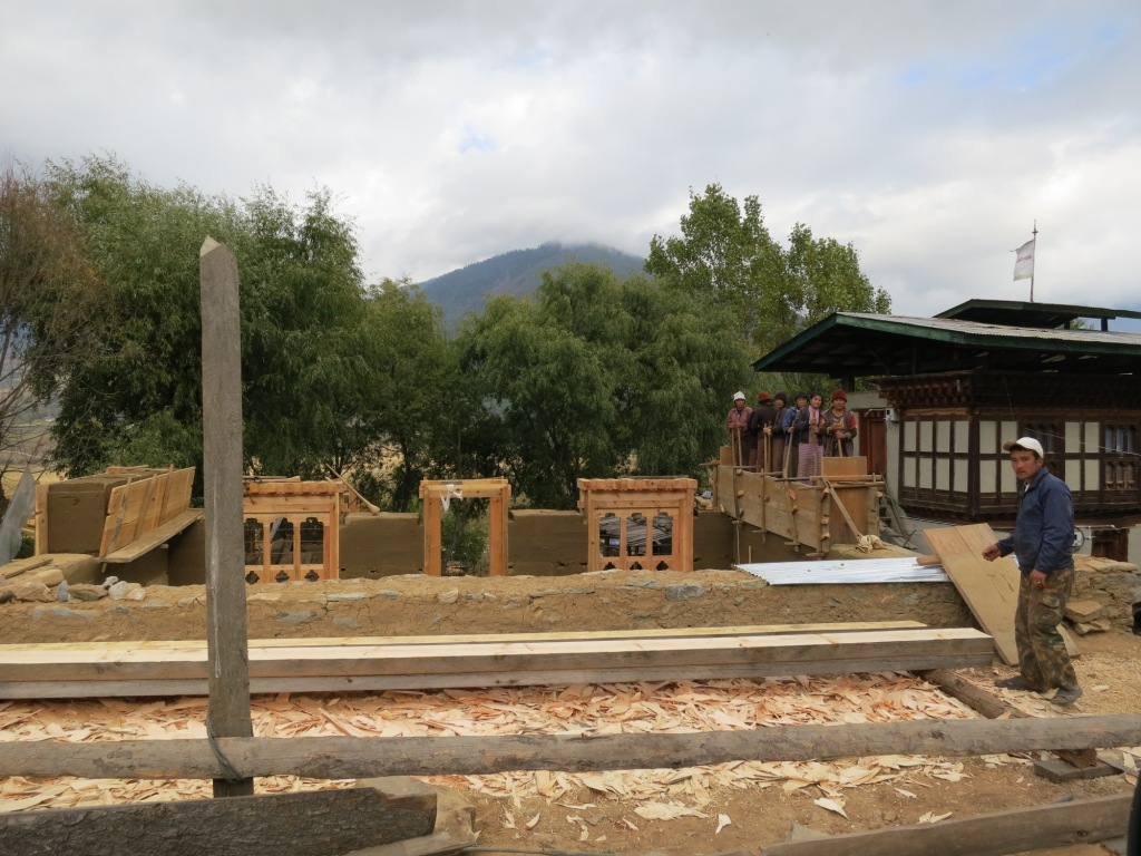 Building a house in Bhutan