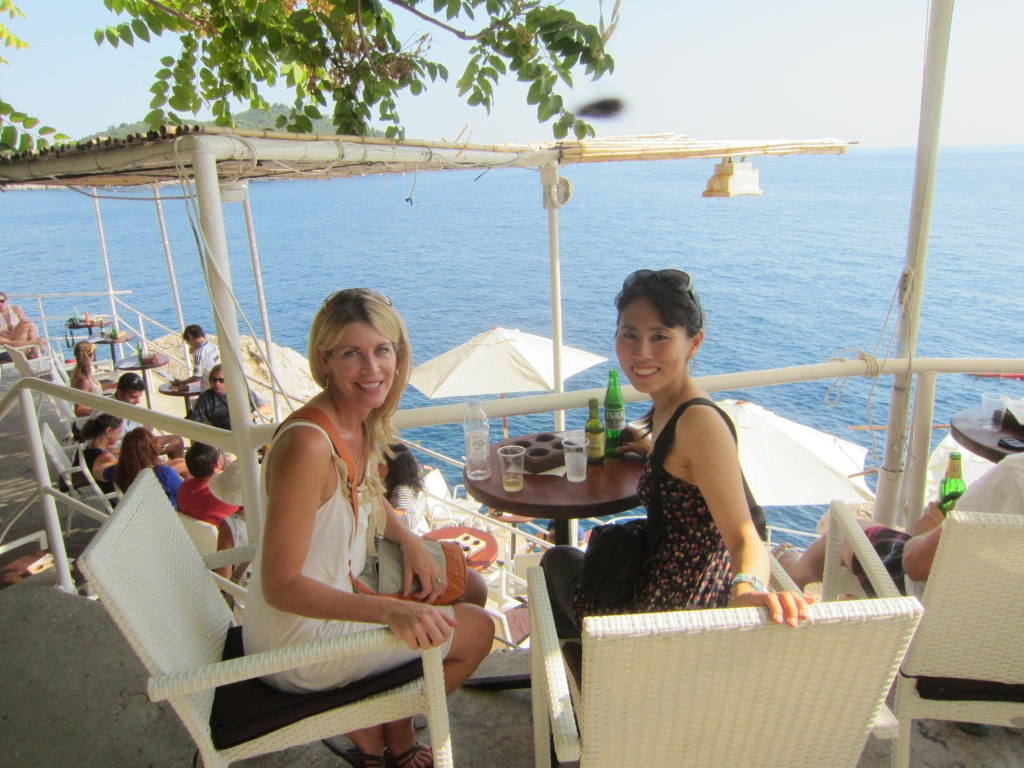 Kisara and Jen in Dubrovnik