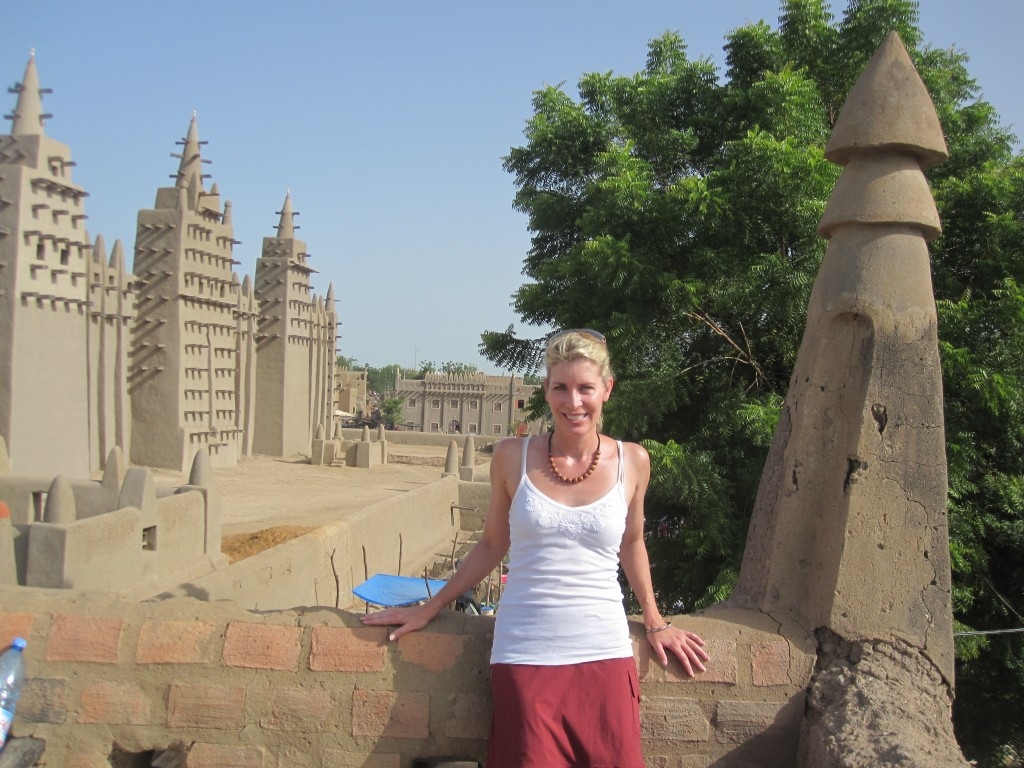 The Mud Mosque in Djenné, Mali