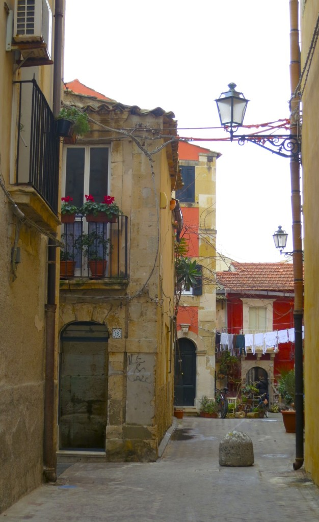 little streets of Ortigia, Sicily