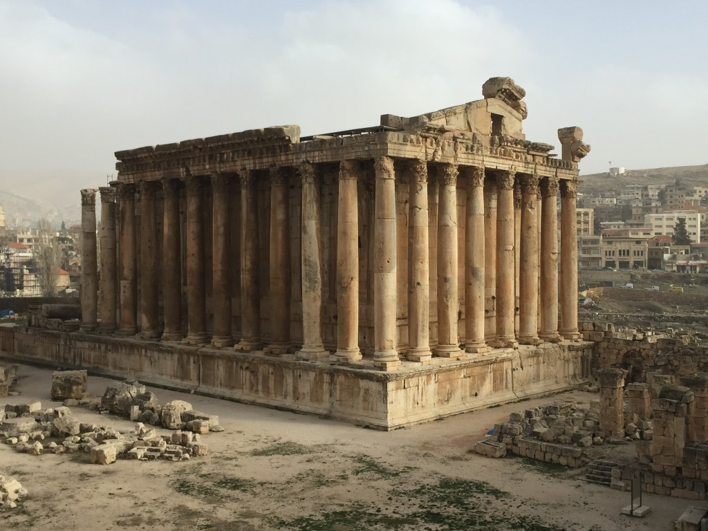 Bacchus Temple at Baalbek