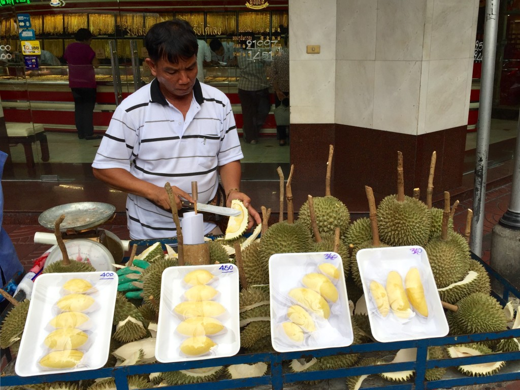 Street vendor in chinatown