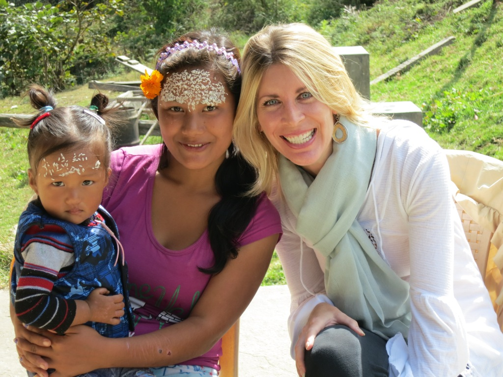 """""""American Lady does Bhutan"""" 